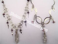Quartz Crystal Necklaces - Handmade Wholesale Peruvian Jewelry