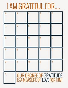 It has been awhile, but I wanted to post the Activity Days activity that we had in November. I gave a lesson about Gratitude, since we...