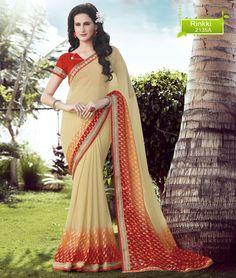Designer Indian Saree Ethnic Wedding Dress Pakistani Partywear Bollywood Sari…