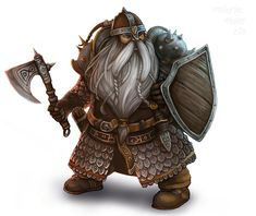 Mountain Dwarf Mountain dwarves live deeper under the mountains than hill dwarves but generally not as far underground as deep dwarves. They average about 4-1/2 feet tall and have lighter skin and hair than hill dwarves, but the same general appearance.