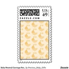 Baby Neutral Carriage Pattern Stamps