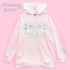 Eternity Angel Unicorn Hooded Parka - Pink