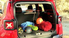 Actual cargo dimensions? rather than volume - Page 2 - Jeep Renegade Forum