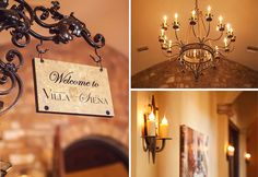 Tuscan interior of Villa Siena | Alissa Melody Photography | villasiena.cc