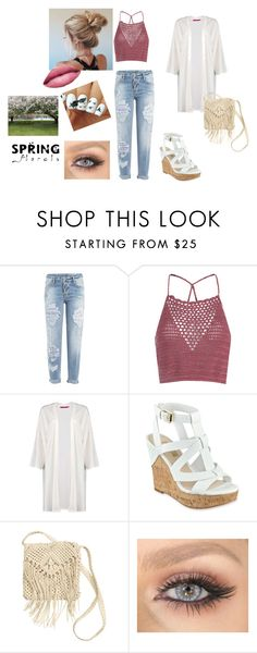"""""""Spring #4"""" by modefan2 on Polyvore featuring mode, Dsquared2, Glamorous, GUESS, H&M et TheBalm"""