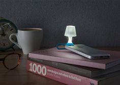 Tiny Lampshade Turning Your Smartphone Into a Light – Fubiz Media
