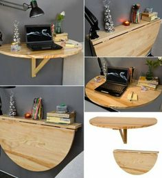 Attached table. Can be put beside the bed too.