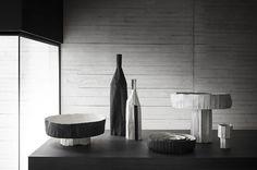 These ceramics by Paola Paronetto are so perfect for a man's space #paolaparonetto #interiordesign #masculine #homeaccent #artconsultant #ceramic