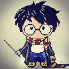 Harry Potter perler beads by pisces_artist_in_love
