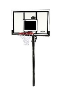 Lifetime 71525 Height Adjustable In Ground Basketball System 54 Inch