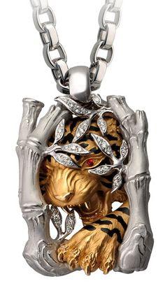 Magerit - pendant Tiger
