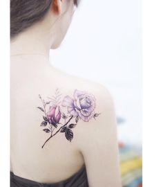 """9,685 gilla-markeringar, 50 kommentarer - 타투이스트 바늘 (@tattooist_banul) på Instagram: """": Rose 🌸 . . #tattooistbanul #tattoo #tattooing #flower #flowertattoo  #rose #rosetattoo…"""""""