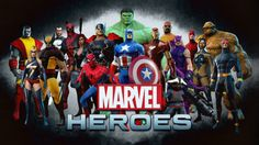 PIPOCA COM BACON - Games: Marvel Heroes On Line - #PipocaComBacon