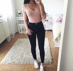 See more ideas about Design and style attire, Swag outfits and Female design and style. Cute Outfits For School, College Outfits, Outfits For Teens, Trendy Outfits, School Outfits Highschool, Teen Fashion Outfits, Swag Outfits, Mode Outfits, 90s Fashion