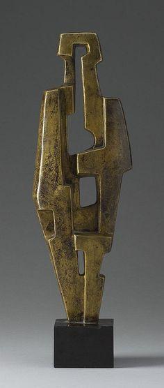 European Sculpture : Photo More Cubist Sculpture, Metal Art Sculpture, Sculpture Projects, Steel Sculpture, Pottery Sculpture, Contemporary Sculpture, Bronze Sculpture, Bijoux Design, Cubism Art