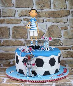 Imre loves football..... :-) - Cake by leonietje