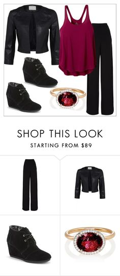 """Untitled z#359"" by chanlee-luv ❤ liked on Polyvore featuring Rochas, TOMS, Irene Neuwirth and prAna"