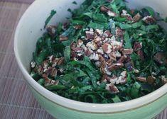 The Balanced Diet: Kale Salad with Bagna Cauda Vinaigrette