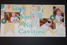 layout by Maria Woodworth using CTMH Dotty For You paper