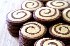 Chocolate Peanut Butter Pinwheel Cookies