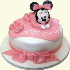 Ava's Christening Cake