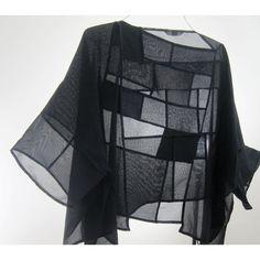 Description: Uses Japanese Antique Kimono Ro-Silk and Sha-Silk Fabric.Seams and Moire are part of design.Dimensions: H:22.00 x W:49.00 x D:0.50 Inches