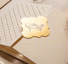 Design by Louma - Unique luxury wedding invitations and stationery — FUTAIM + ABDALLAH
