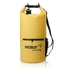 Bear Outdoor 2017 New Dry Sack Waterproof Bag for Boating Kayaking Hiking Snowboarding Camping Rafting Fishing and Backpacking Yellow ** Want to know more, click on the image.Note:It is affiliate link to Amazon.