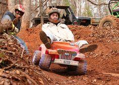 Extreme Barbie Jeep Racing in Alabama