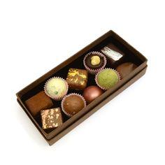 Fresh Chocolates - Chocolatiers Box of 25 Luxury Chocolate, Selection Boxes, Chocolate Gift Boxes, Restaurant Recipes, Melting Chocolate, Chocolates, Fresh, London, Dinner