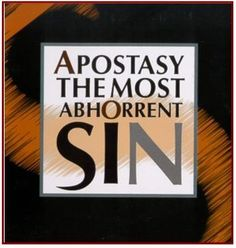 Apostasy