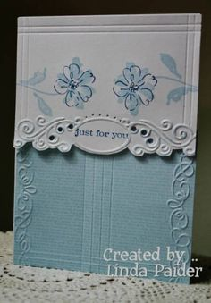 Beautiful embossing!