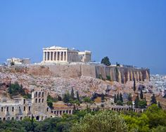Athens, Greece....where my husband was born.  I dream of going there with him one day.