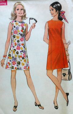 Vintage Dress Sewing Pattern.  This looks easy enough.  Maybe by next summer I will have one of these classics in my closet!