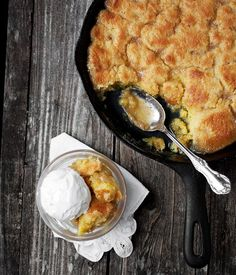 Cast Iron Skillet Maple Syrup Pudding Cake | Seasons and Suppers