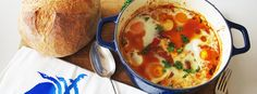 You have got to try this Baked Eggs, Chorizo and Cannellini Beans inspired by the Three Blue Ducked and I've adapted it for the Thermomix too, happy days