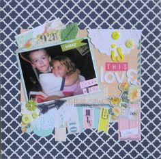 Bits & Scraps Of My Life: Today is my posting day at Scrap Friendzy!