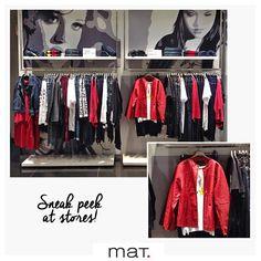 Ακόμα περισσότερες νέες παραλαβές στα #matfashion καταστήματα με έντονες κόκκινες πινελιές και πρωταγωνιστή το διαχρονικό rock κόκκινο biker jacket... Ένα κομμάτι που δεν πρέπει να λείπει από την γκαρνταρόμπα σου! (Κωδικός 664.4004) #fallwinter2016 #collection #red #rock #fashion #trend #ootd #inspiration