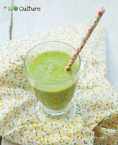 Recette détox en ce début février, un smoothie vert ! • http://www.panier-bio-paris.fr/index.php?module=recettes&rub=17&recette=222
