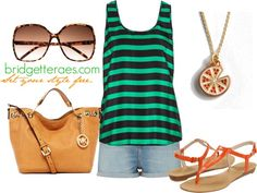 Hot, Juicy Summer, created by bridgetteraes on Polyvore