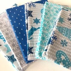 Nordic Trend Blue Christmas - Package - Cotton - Scandinavian Design Trends - Have Best Home Decor ! Christmas Fabric, Blue Christmas, Scandinavian Design, Design Trends, Home Goods, Packaging, Quilts, Blanket, Cotton
