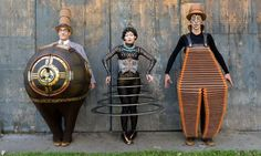 Mr. Microcosmos, Klara the Telegraph of the Invisible, and Nico the Accordion Man - Kurios