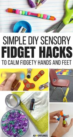 Sensory Hacks to Focus a Fidgety Child (That don't involve a Fidget Spinner) via @lemonlimeadv