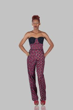 9534ccffed65 African Prints in Fashion on Bloglovin African Print Jumpsuit