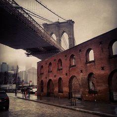 D U M B O down under the Manhattan Bridge Overpass