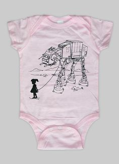 My Star Wars AT-AT Pet Baby Onesie by EngramClothing