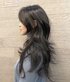 Hair Color Streaks, Hair Color And Cut, Cut My Hair, Hair Cuts, Shot Hair Styles, Curly Hair Styles, Hairstyles Haircuts, Pretty Hairstyles, Hair Inspo