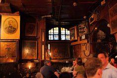 Gordon's wine bar- London.