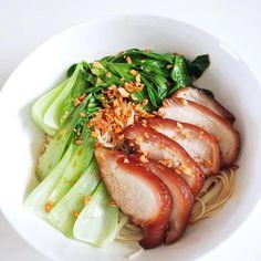 レシピとお料理がひらめくSnapDish - 112件のもぐもぐ - Braised pork and greens on somen by 12Dragon