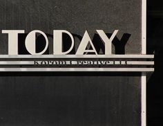 Art Deco Text http://www.etsy.com/shop/JoeyKoromArt